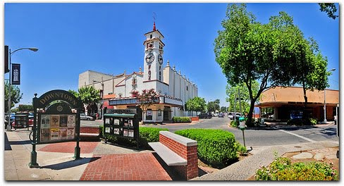 The Old Fox Theatre, Visalia CA